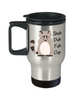 Shuh Duh Fuh Cup Travel Mug Gift Funny Raccoon Novelty Birthday Coffee Cup