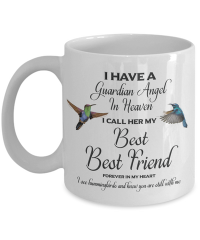 Best best friend Memorial Gift Mug