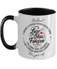 Husband Turn Back Time Mug Love You Forever Anniversary Two-Tone Cup