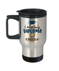 Funny Graduation Gift Travel Mug for Coffee Addict Congratulations Coffee Cup