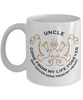 Uncle Memorial Gift Mug Gone From My Life Always in My Heart Remembrance Memory Cup