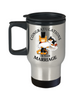 Congratulations Marriage Cat Travel Mug Gift Wedding Mr & Mrs Fur Lovers Cup