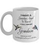 Grandchild Memorial Gift I Have a Guardian Angel in Heaven Grandson Grandchild Remembrance Gifts