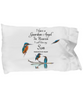 Guardian Angel Son Kingfisher Pillowcase Gift Memorial Sympathy and Support
