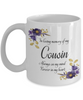 In Loving Memory Cousin Mug Sympathy Gift Remembrance Memorial Coffee Cup