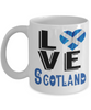 Love Scotland Mug Gift Novelty Scottish Keepsake Coffee Cup