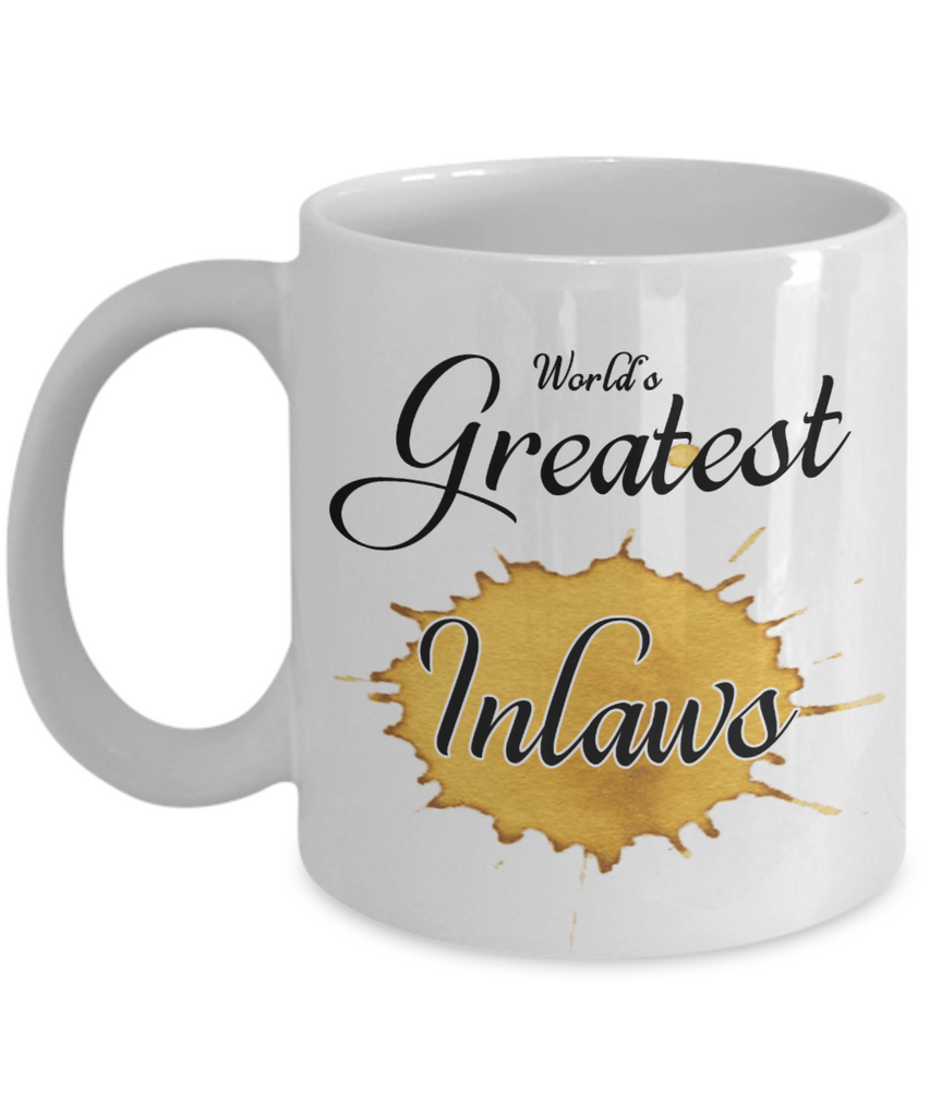 World\'s Greatest Inlaws Mug Unique Novelty Birthday Christmas Gifts ...