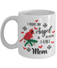 Mom Angel in Heaven Cardinal Mug Gift In Loving Memory Mother Coffee Cup