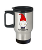 Papa Gnome Travel Mug Gift For Dad Father's Day Birthday Coffee Cup