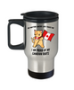 Proud Canadian Roots Cat Canada Flag Travel Mug Gift No Matter Where Life Takes Me Novelty Cup