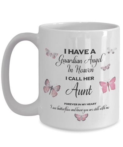 Image of Memorial Gift, I Have a Guardian Angel in Heaven, I Call Her Aunt Remembrance Gifts