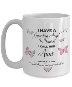Memorial Gift, I Have a Guardian Angel in Heaven, I Call Her Aunt Remembrance Gifts