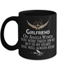 Girlfriend Angel Wings In Loving Memory Black Mug Gift Memorial Coffee Cup