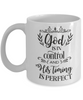 Christian Faith Gift God is in Control...Bible Scripture Coffee Mug Gift