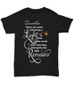 Grandson Memorial Some Bring a Light So Great It Remains T-shirt Gift In Loving Memory Shirt