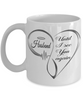 Husband Memorial Heart Mug Until I See You Again Loving Memory Keepsake Cup