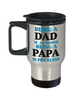 Love You Dad Travel  Mug Gift for Father's Day Papa Grandfather Birthday Coffee Cup