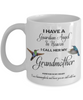 Grandma Memorial Gift I Have a Guardian Angel in Heaven  Grandmother Granny Remembrance Gifts