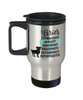 Aries Zodiac Travel Mug Gift Fun Novelty Birthday Coffee Cup