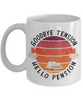 Teacher Retirement Mug Gift Goodbye Tension Hello Pension Retire Happy Good Luck Novelty Cup