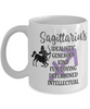Sagittarius Zodiac Mug Gift Fun Novelty Birthday Coffee Cup