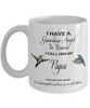 Dad Memorial Gift I Have a Guardian Angel in Heaven Father Remembrance Gifts