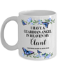 Aunt Memorial Mug 11 oz In Loving Memory Mourning Emotional Support Cup