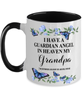 Grandpa Memorial Two-Toned Mug In Loving Memory Mourning Emotional Support Cup