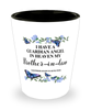 Brother-in-law Memorial Shot Glass In Loving Memory Mourning Emotional Support Keepsake