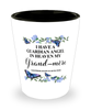 Grand-mere Memorial Shot Glass In Loving Memory Mourning Emotional Support Keepsake