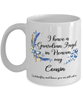 Cousin Guardian Angel Memorial Butterfly Mug In Loving Memory Mourning Keepsake 11 oz Cup