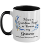 Grammie Guardian Angel Butterfly Memorial Mug In Loving Memory Mourning Keepsake 11 oz Two-Toned Cup
