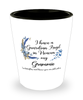 Grammie Guardian Angel Butterfly Memorial Shot Glass In Loving Memory Mourning Keepsake Shotglass