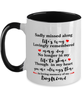 Boyfriend In Loving Memory Mug Mourning Remembrance Keepsake Two-Toned 11 oz Cup