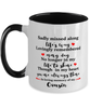 Cousin In Loving Memory Mug Mourning Remembrance Keepsake Two-Toned 11 oz Cup