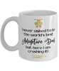 Adoptive Dad World's Best Mug Crushing it 11 oz Coffee Cup