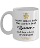 Banma World's Best Mug Crushing it 11 oz Coffee Cup