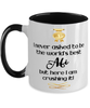 Afi World's Best Mug Crushing it 11 oz Two-Toned Coffee Cup