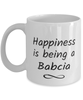 Babcia Mug Happiness is Being 11oz Coffee Cup