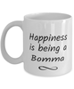 Bomma Mug Happiness is Being 11oz Coffee Cup