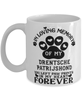 Drentsche Patrijshond Dog Mug Pet Memorial You Left Pawprints in My Heart Coffee Cup