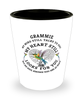 Grammie In Loving Memory Shot Glass Hummingbird My Mind Talks To You Memorial Keepsake