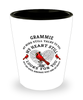 Grammie In Loving Memory Shot Glass Cardinal My Mind Talks To You Memorial Keepsake