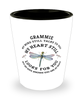 Grammie In Loving Memory Shot Glass Dragonfly My Mind Talks To You Memorial Keepsake