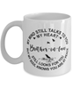 Brother-in-law Loving Memory Mug My Mind Talks To You Remembrance Keepsake