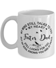 Foster Dad Loving Memory Mug My Mind Talks To You Remembrance Keepsake