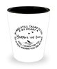 Brother-in-law Loving Memory Shot Glass My Mind Talks To You Remembrance Keepsake