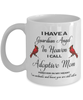 Adoptive Mom Memorial Cardinal Mug Guardian Angel Remembrance Sympathy Keepsake