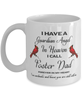 Foster Dad Memorial Cardinal Mug Guardian Angel Remembrance Sympathy Keepsake