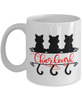 Charleigh Cat Lady Mug Personalized Funny Feline Mom Coffee Cup